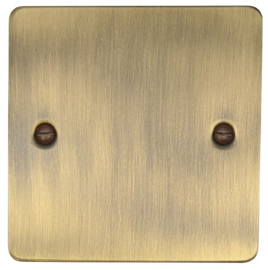 Flat Plate Antique Bronze